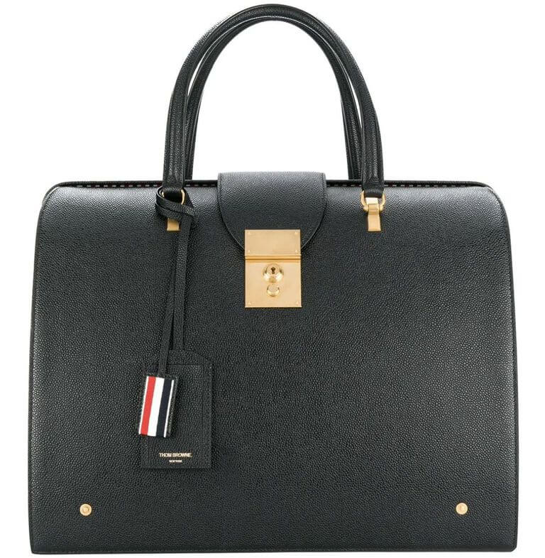 Pebbled Leather Mr. Thom Bag as a gift idea