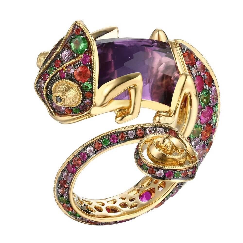 anoushka chameleon ring 1 as a gift idea
