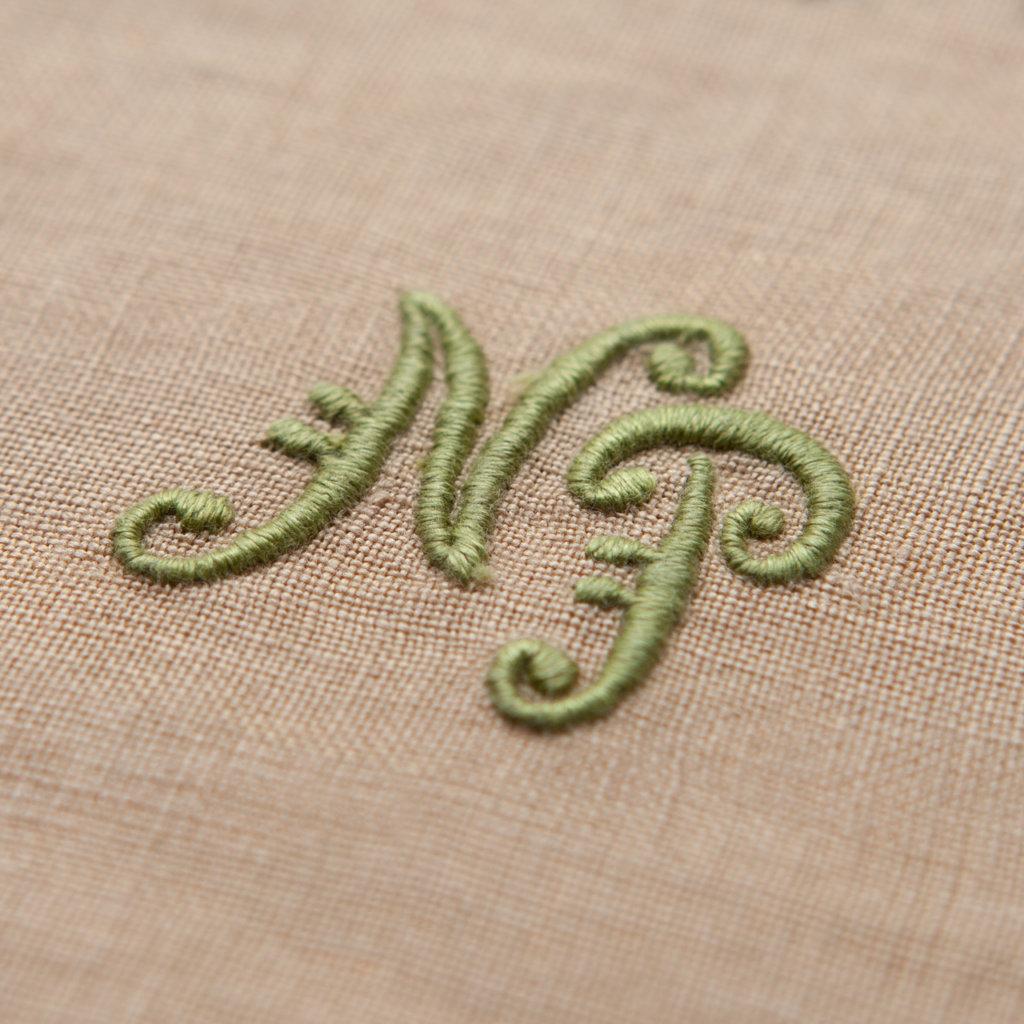 monogram_A25_greenkhaki_hires as a gift idea