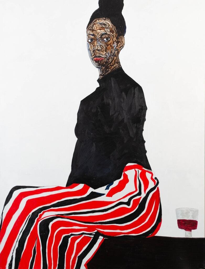 Joy Adenike (2019), by Amoako Boafo