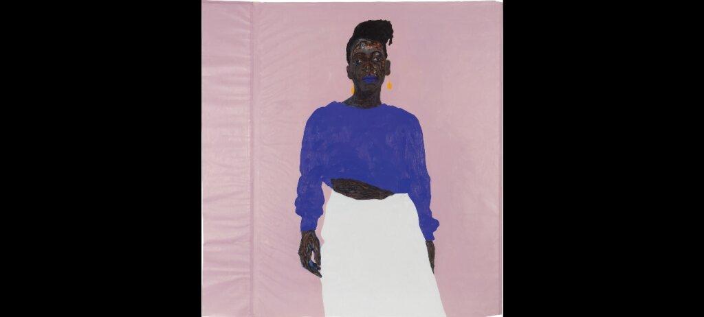Amoako Boafo's Joy in Purple,